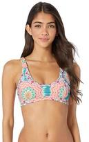 Luli Fama Caribbean Kisses Tank Bralette Top (Multi) Women's Swimwear