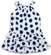 3 Pommes Infant Girls' Dot Print Dress - Sizes 3-24 Months