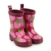 Hatley HatleyGirls Pink Apple Orchard Rain Boots
