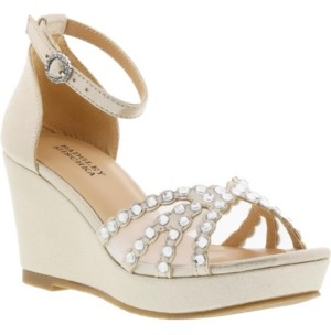 Badgley Mischka Big Girls Sophia Crystal Dress Sandal