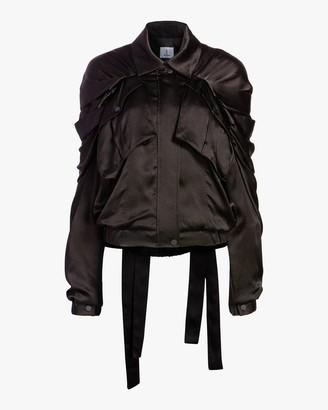 Judy Zhang Ribbon Bomber Jacket