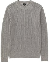 Uniqlo Men Middle Gauge Waffle Crewneck Sweater