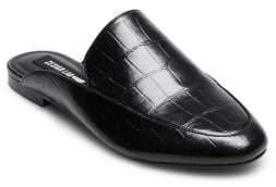 Design Lab Viola Leather Mules