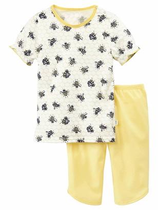 Calida Baby Girls' Toddlers Honey Bee_51870 Pyjama Set
