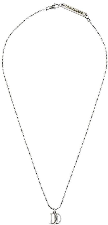 DSQUARED2 D pendant necklace