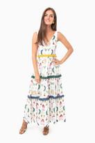 Verandah Tiered Maxi Dress
