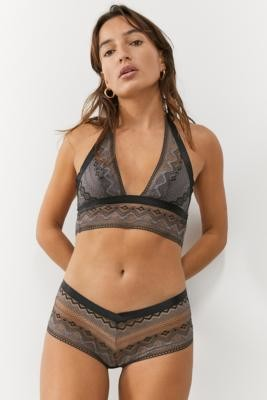 Out From Under Forever Night Boyshort Knickers - Black XS at Urban Outfitters