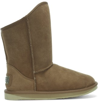 Australia Luxe Collective Cosy Chestnut Double Faced Sheepskin Ankle Boots