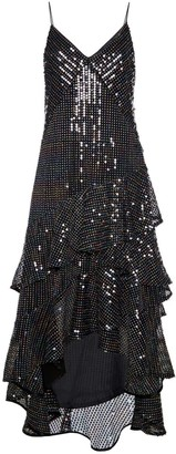 Diana Arno Susanna Sequin Maxi Dress