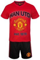 Manchester United F.C. Manchester United FC Official Soccer Gift Boys Short Pajamas