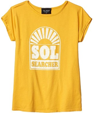 Tiny Whales Sol Searcher Dolman Tee (Toddler/Little Kids/Big Kids) (Vintage Gold) Girl's Clothing