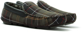 Barbour Monty Green Tartan Slippers