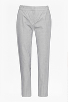 Great Plains Pinstripe Cropped Trousers