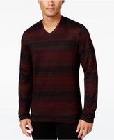 Alfani Men's Striped Long-Sleeve T-Shirt, Regular Fit