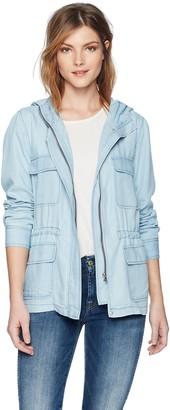 BB Dakota Women's Jeslyn Chambray Jacket Medium