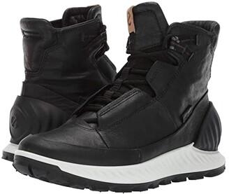 ECCO Sport Exostrike High (Black/Black) Men's Shoes