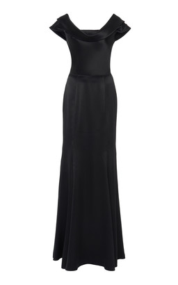 Dolce & Gabbana Silk-Blend Satin Gown