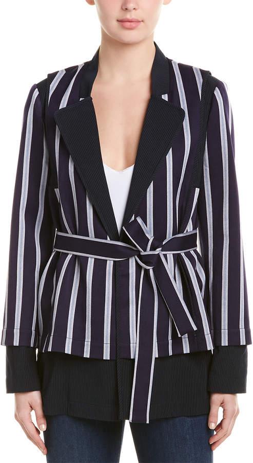 BCBGMAXAZRIA Striped Jacket