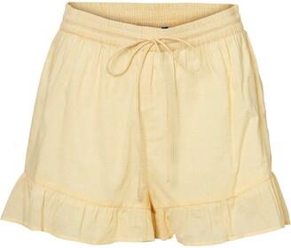 Vero Moda Haddy Tie Waist Shorts