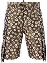 DSQUARED2 jacquard flower shorts
