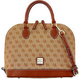 Dooney & Bourke Madison Signature Zip Zip Satchel