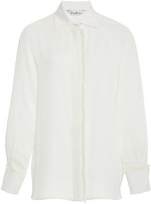 Max Mara Mogador Silk Shirt