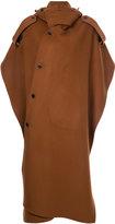 MSGM cape coat