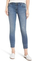 DL1961 Women's Davis Slim Crop Girlfriend Jeans