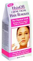 Hair Off Creme Facial Hair Remover, 1.8 oz (51 g) Tubes, (Pack of 3) by Hair Off