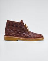 Clarks B. X Men's Desert Beewax Woven Chukka Boots