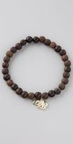 Elephant Wood Beaded Bracelet