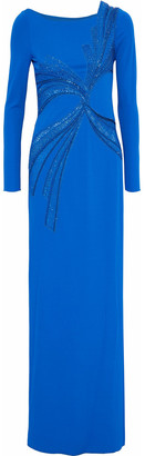 Emilio Pucci Embellished Crepe Gown
