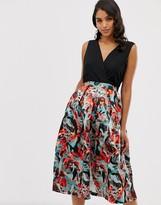 Closet London Closet 2 in 1 full skirt dress