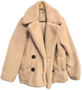 Free People Beige Polyester Coats