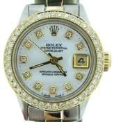Rolex Datejust 14K Yellow Gold & Stainless Steel Womens Watch