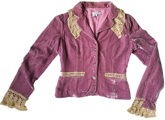 American Retro Pink Jacket for Women