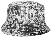 Famous Stars & Straps Writer Allover Reversible Bucket Hat