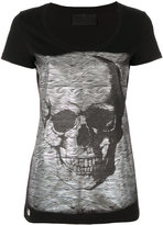 Philipp Plein skull-embellished T-shirt