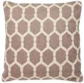 Eichholtz Cirrus Cushion Brown Wool Cotton 50x50cm