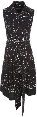 Samantha Sung Audrey Long Dress 3/4s Shirt Collar