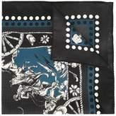 Dolce & Gabbana 'Western' print bandana scarf