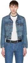 Vetements Blue Levis Edition Reworked Denim Jacket