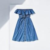 Tommy Hilfiger Chambray Bib Dress