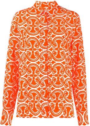 Jil Sander Printed Button Down Shirt