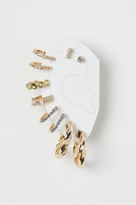 H&M 10-pack Earrings and Ear Cuffs