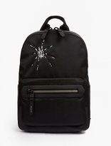 Lanvin Black Tarantula Motif Backpack