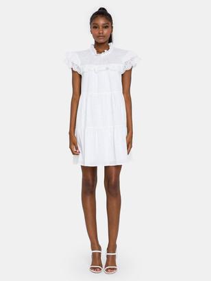 ENGLISH FACTORY Eyelet Babydoll Dress