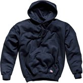 Forever Mens Long Sleeves Plain Dickies Hoodie Black Sweatshirt