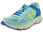Under Armour Ggs Assert V Youth Round Toe Synthetic Blue Running Shoe.