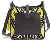 Rebecca Minkoff X Feed Woven Feed Bag - Black